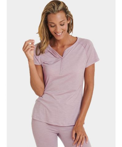 Women's Nattwarm® Sleep Tech T-shirt - Pink