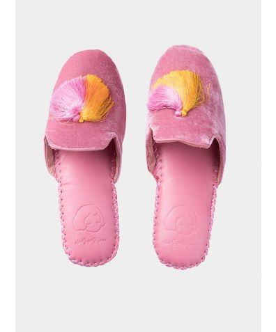 Women's Classic Handmade Slipper - Pink