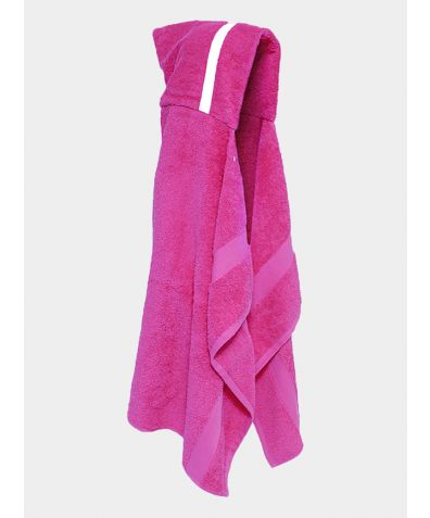 Hooded Cotton Towel - Pink