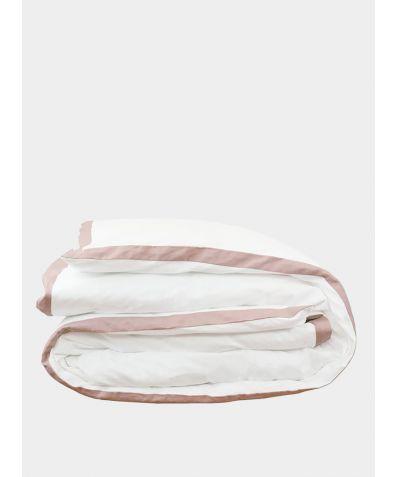 Orsa Linen Duvet Cover - Blush