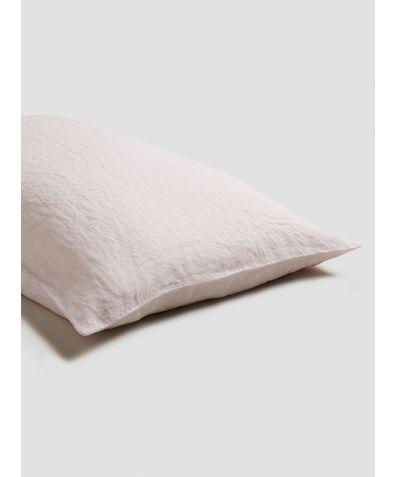 Linen Pillowcases (Pair) - Blush