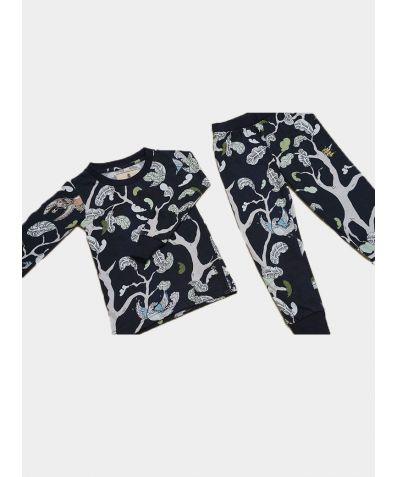 Unisex Jersey Pyjama Set - Never Ending Forest