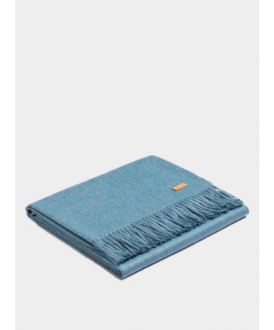 Plaid Exclusive Blanket - Aqua Blue