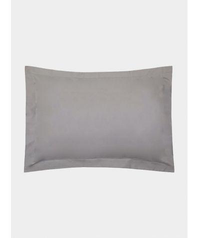 Excellence 600 Thread Count Egyptian Cotton Oxford Pillowcase - Grey