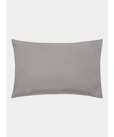 Excellence 600 Thread Count Egyptian Cotton Housewife Pillowcase - Grey