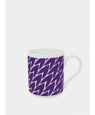 Leaf Mug - Plum