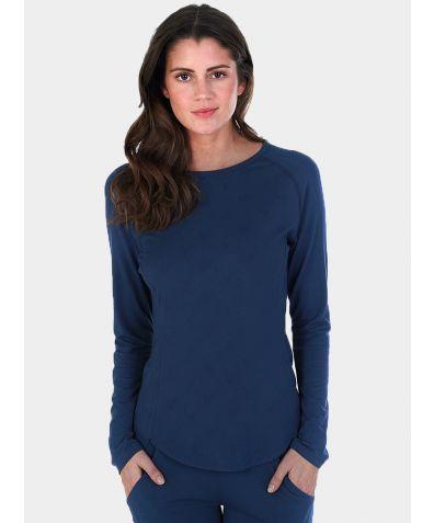 Women's Revolutionary High-Tech Nattwell® Long Sleeve Top - Midnight Blue