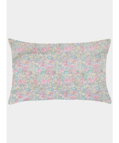 Liberty Print Pillowcase - Poppy & Daisy Lemon