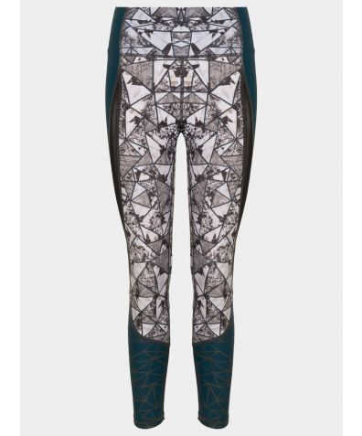 Power On Leggings - Geometric