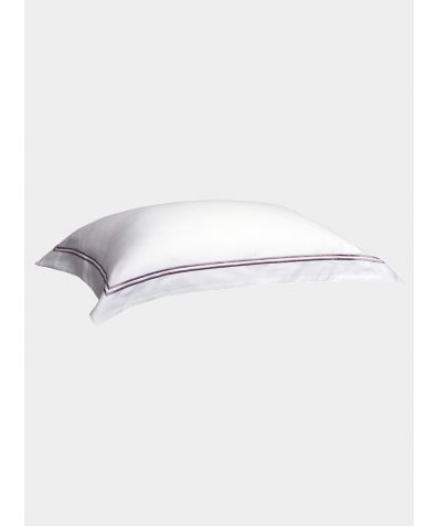 300 Thread Count Cotton Pillowcase - Mink