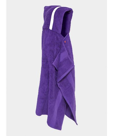 Hooded Cotton Towel - Purple