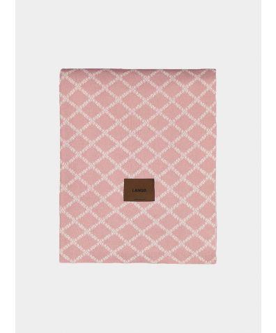 Merino Wool Blanket - Rose White