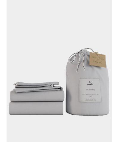 Bamboo Bed Set - Quiet Grey
