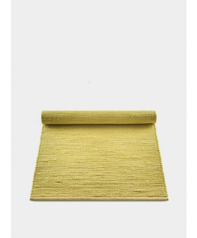 Cotton Rug - Raincoat Yellow