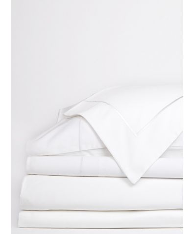 Regale Organic Cotton Fitted Sheet - White
