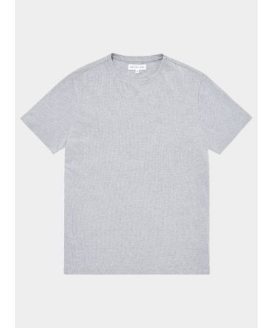 Relax Cotton T-Shirt - Grey Stripe