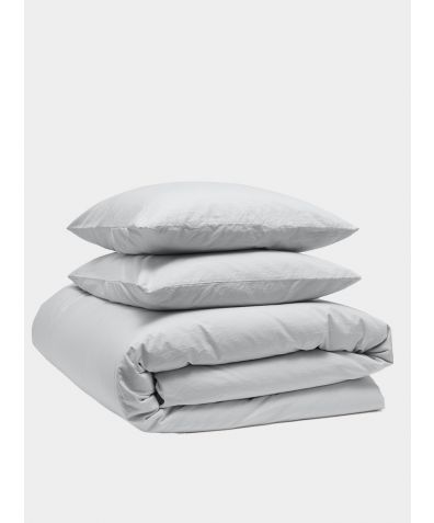 Relaxed 300 Thread Count Cotton Bedding Bundle - Dove