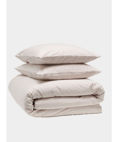 Relaxed 300 Thread Count Cotton Bedding Bundle - Rose