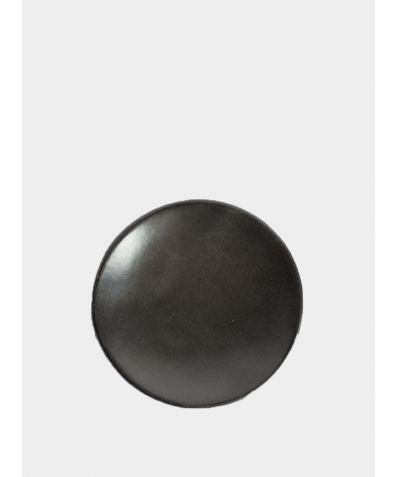 Beeswax Side Plate - Black Clay (2 Pieces)