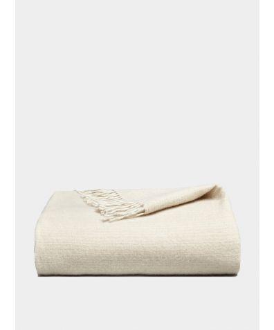 Riki Cashmere Blanket - Stone