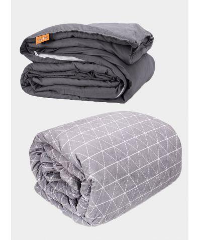 Double Combo Luxury Adult Weighted Blanket