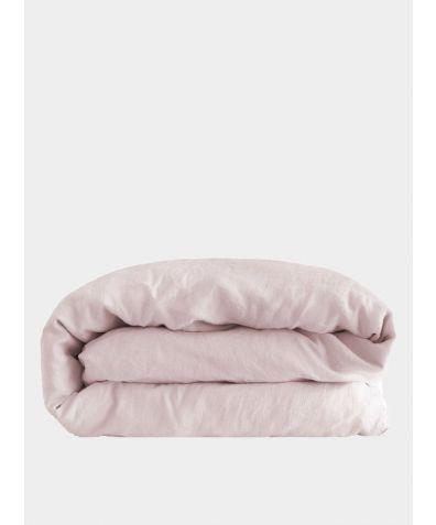 Linen Duvet Cover - Mireille Rose