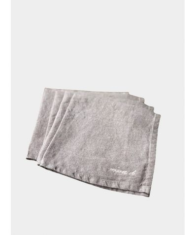 Linen Square Napkin (Set of 4) - Ashes of Roses
