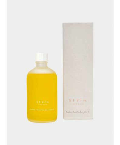 Porcelain White Face Body & Hair Oil, 100ml