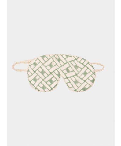 Mulberry Silk Sleep Mask & Bag - Leh Sage
