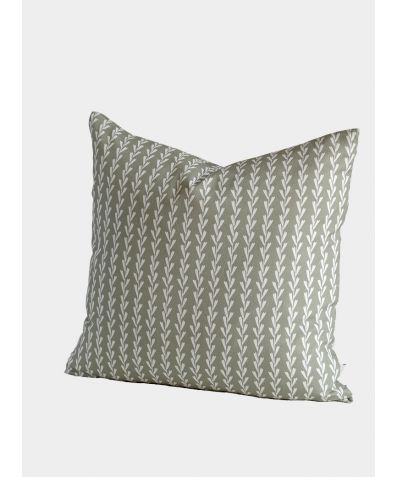 Rye Grass Cushion, Soft Sage