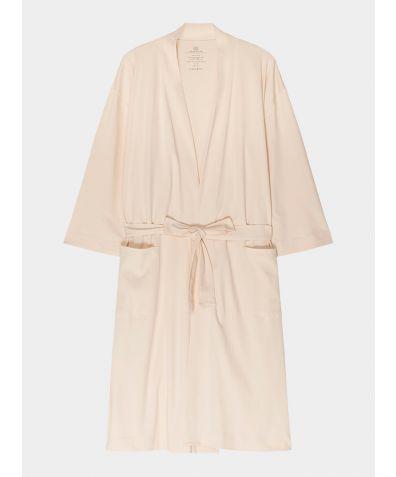 Women's Organic Pima Cotton Everyday Robe - Sand