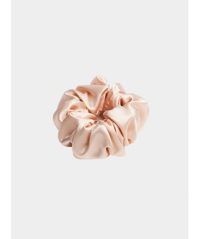 Trish Silk Scrunchie - Pink
