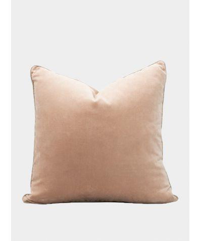 Unari Velvet Cushion - Shell