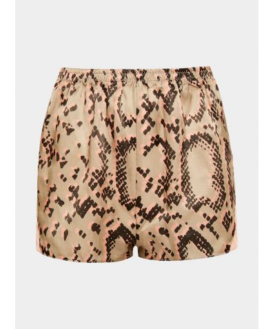 Silk Cotton Pyjama Shorts - Scaled 2 Print