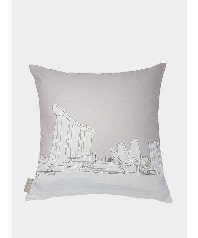 Cityscape Cushion - Singpore