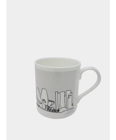 Cityscape Mug - Singapore