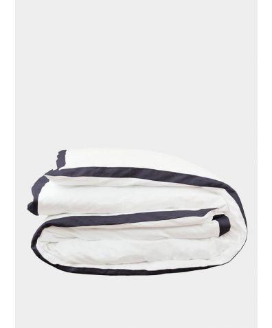 Orsa Linen Duvet Cover - Slate Grey