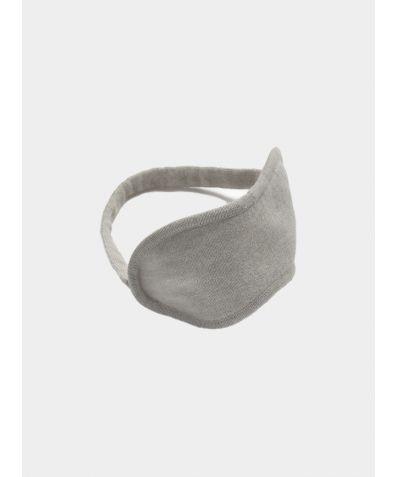 Merino Wool Eye Mask - Dove Grey
