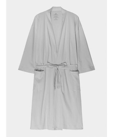 Women's Organic Pima Cotton Everyday Robe - Perfect Grey