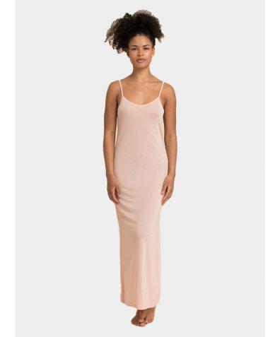 Tencel Slip Dress - Nude Pink