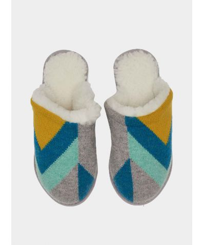 Lambswool and Sheepskin Slippers