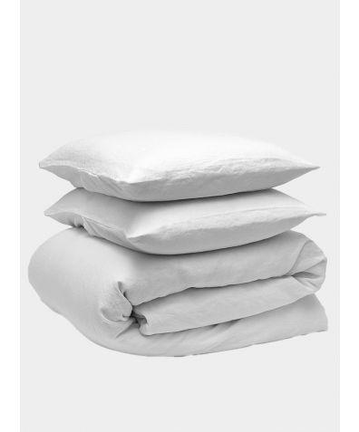 Linen Bedding Bundle - Snow