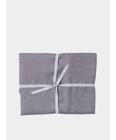 Stonewashed Linen Pillowcases (Pair) – Light Grey