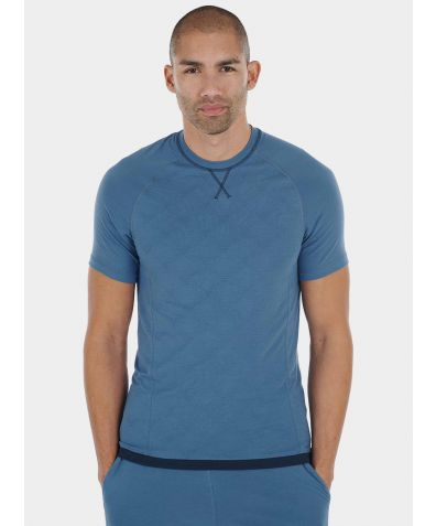 Mens Nattwell® Sleep Tech T-Shirt - Still Blue