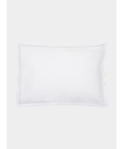 Cairo 600 Thread Count Egyptian Cotton Oxford Pillowcase - Grey