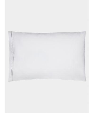 Cairo 600 Thread Count Egyptian Cotton Housewife Pillowcase - Grey