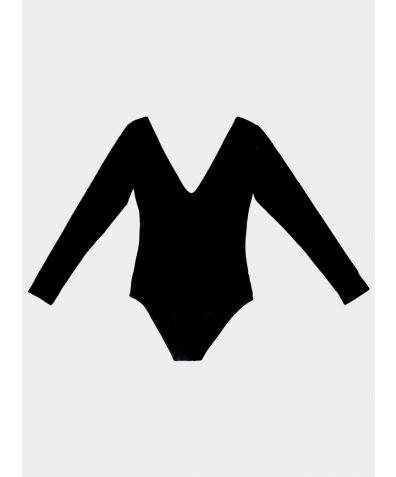 The SUAVE Bodysuit - Black