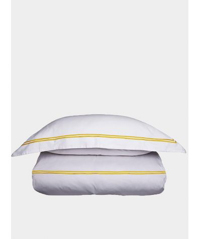 300 Thread Count Cotton Sateen Flat Sheet - Sunflower