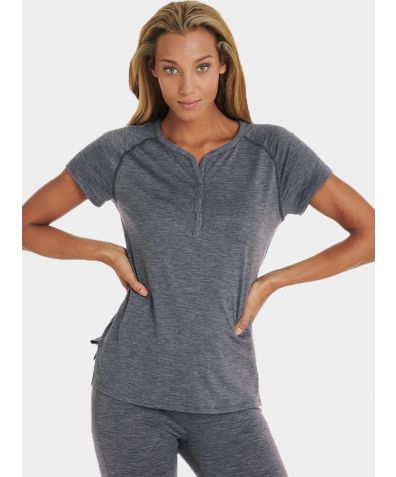 Women's Nattwarm® Sleep Tech T-shirt - Dark Grey