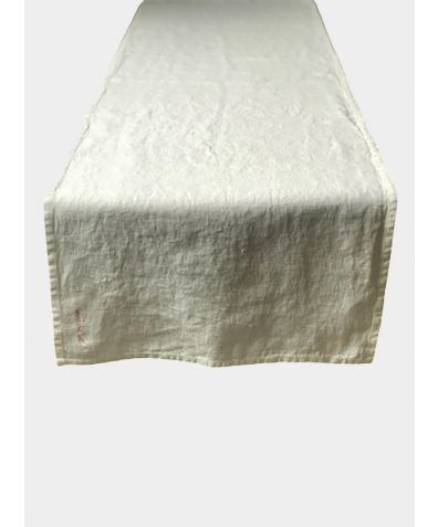 Linen Table Runner - Natural